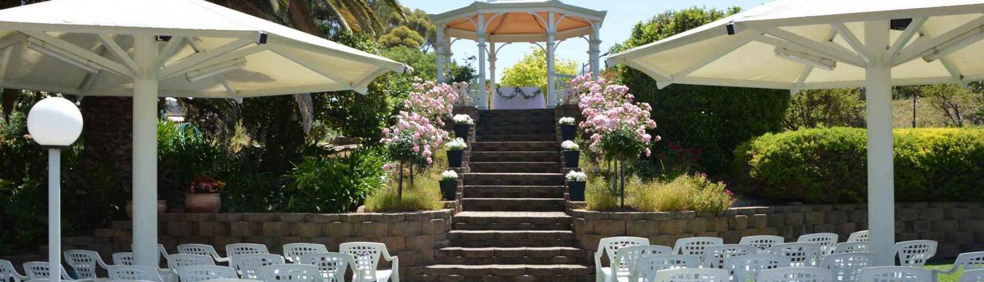 Best Gardens for Weddings Ceremony and Reception in Adelaide Hills
