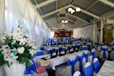 wedding venue reception set-up