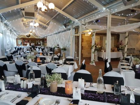 Inside wedding venues