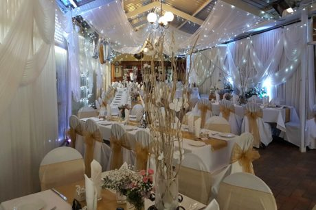 Inside weddings venue